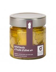 Artichokes in olive oil - 200g