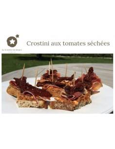 "Carte postale ""Crostini aux..."