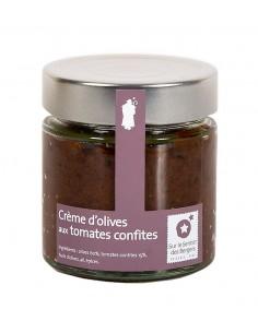 Crème d'olives aux tomates...