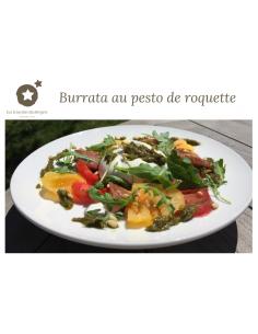 Carte Postale Burrata au...