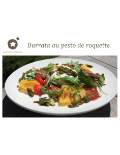 "Postcard ""Burrata with..."