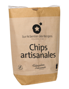 Traditional potato chips -...